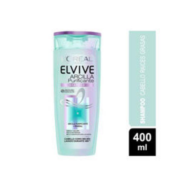 Ofertas de Shampoo Elvive  Arcilla Purificante  por $2590