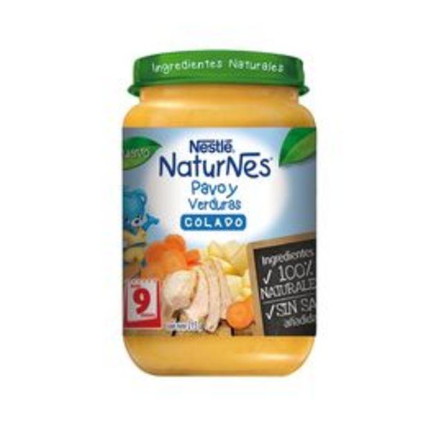 Ofertas de Colado Nestlé Naturnes Pavo Verdura, 215g por $1790