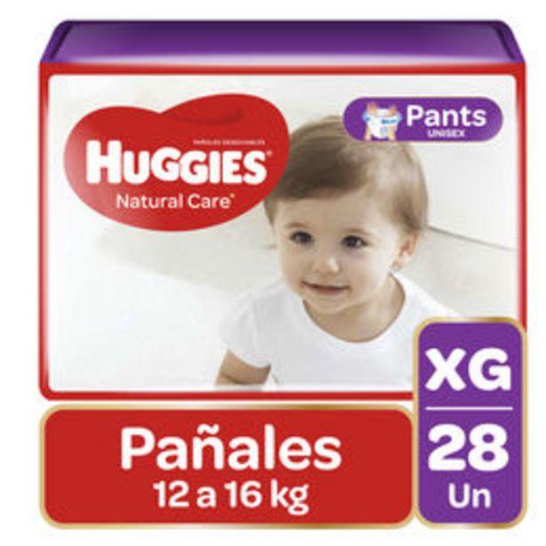 Ofertas de Pañales Natural Care Ajuste Perfecto unisex XG 28 unidades por $7990