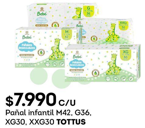 Ofertas de Pañales Tottus por $7990