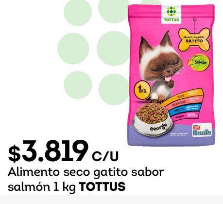 Ofertas de Alimento para animales Tottus por $3819