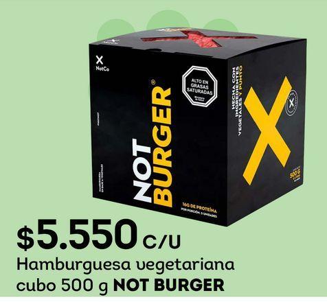 Ofertas de Hamburguesas por $5550