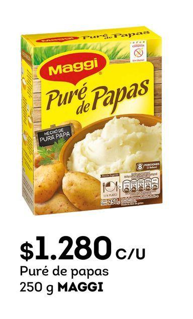 Ofertas de Puré de papas Maggi por $1280