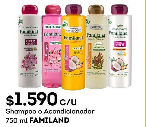 Ofertas de Shampoo Familand por $1590
