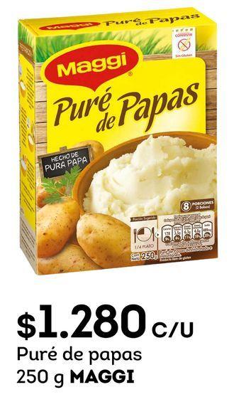 Ofertas de Puré de papas 250 g MAGGI por $1280