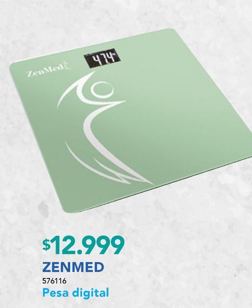 Ofertas de ZENMED PESA DIGITAL VERDE por $12999