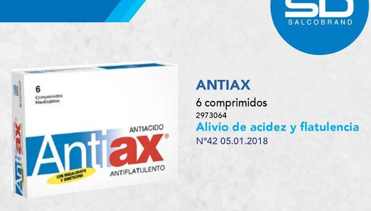 Ofertas de ANTIAX X6COM.MASTICABLES por